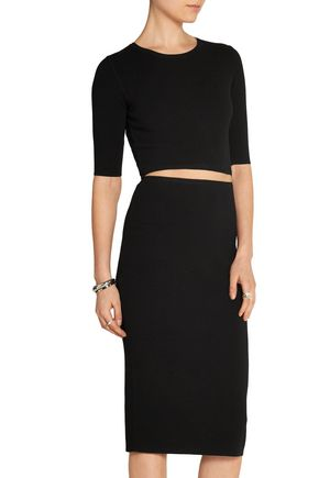 MICHAEL KORS COLLECTION Cutout stretch-knit dress