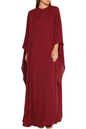 VALENTINO Silk-georgette gown