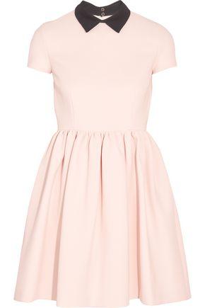 MIU MIU Ribbed stretch-jersey mini dress