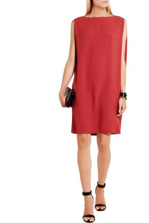 CHALAYAN Oversized crepe column dress