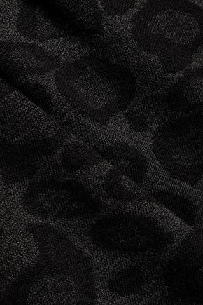 LINE Luisa lepoard-print stretch-jersey dress