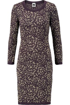 M MISSONI Jacquard-knit mini dress