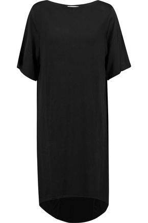AMANDA WAKELEY Tumacacori cotton and cashmere-blend and modal-blend dress