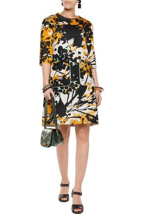 MARNI Printed neoprene dress