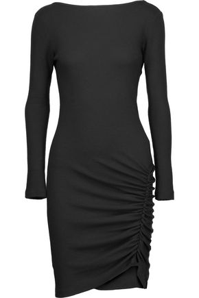 KAIN LABEL Dallin ruched stretch-modal dress