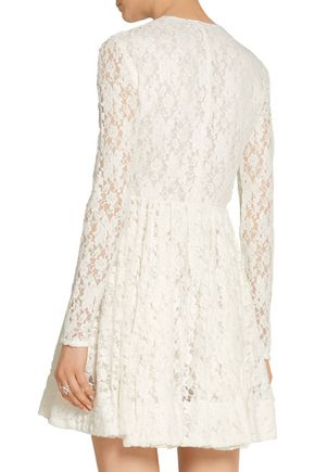 MAJE Lace mini dress