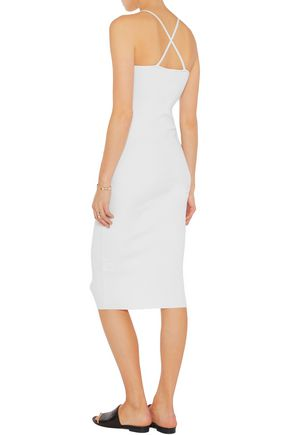 IRIS AND INK Ribbed jersey midi dress