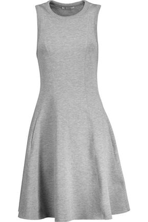 T by ALEXANDER WANG Pleated scuba-jersey dress