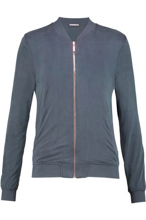 TART COLLECTIONS Hollice washed-jersey jacket ...