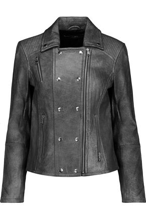 J BRAND Valo leather biker jacket