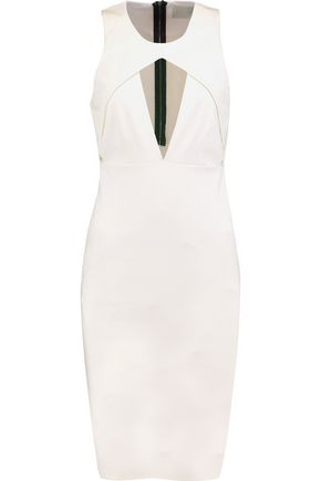 MICHELLE MASON Holster cutout ponte dress