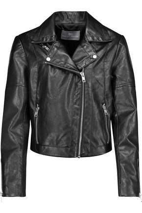 TART Justine faux leather biker jacket
