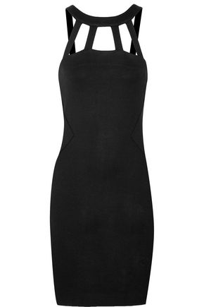 L'AGENCE Gemma cutout stretch-jersey mini dress
