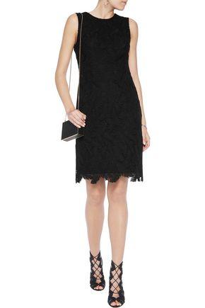EMILIO PUCCI Cotton-blend macramé lace dress