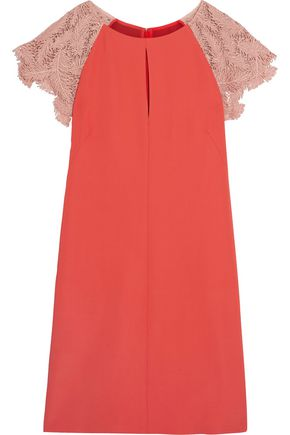 EMILIO PUCCI Embroidered crepe dress