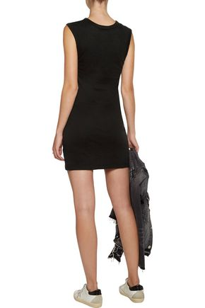 ENZA COSTA Cotton-jersey mini dress