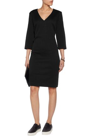 DKNY Matelassé-jersey dress