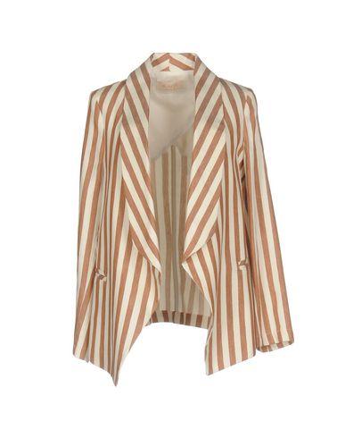 Фото - Женский пиджак KAOS JEANS темно-коричневого цвета