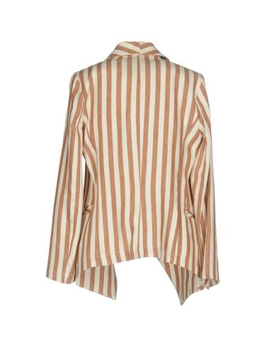 Фото 2 - Женский пиджак KAOS JEANS темно-коричневого цвета