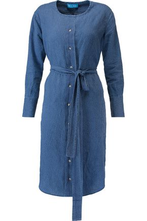 M.I.H JEANS Edie polka-dot linen dress