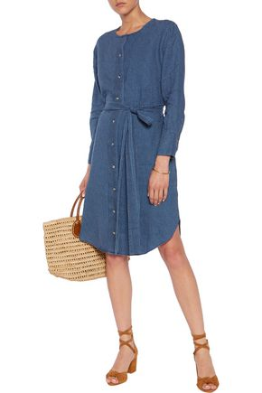 M.I.H JEANS Printed linen dress