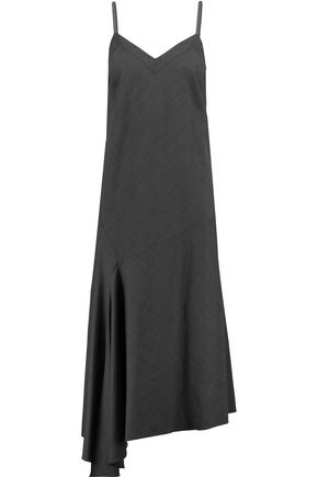 BRUNELLO CUCINELLI Embellished wool midi dress