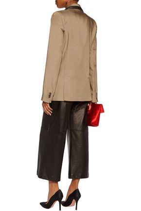 MAISON MARGIELA Paneled piqué blazer