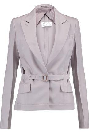 MAISON MARGIELA Belted woven jacket