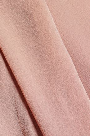 ZIMMERMANN Draped silk-satin dress