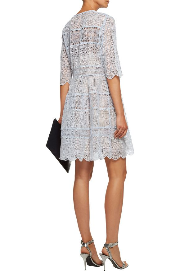 Adorn open-knit trimmed broderie anglaise mini dress | ZIMMERMANN | Sale up  to 70% off | THE OUTNET