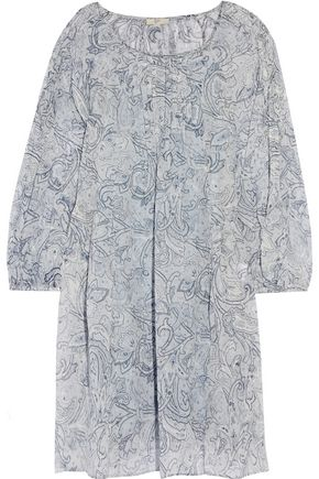 JOIE Achroite printed silk mini dress