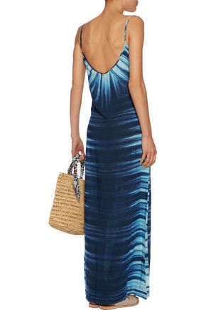 VIX Nile Vicky printed georgette maxi dress