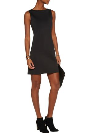 THEORY Mivril scuba mini dress