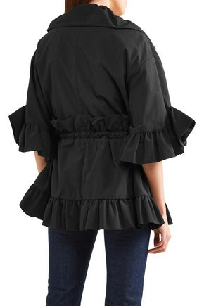 GOEN.J Ruffled cotton-blend jacket