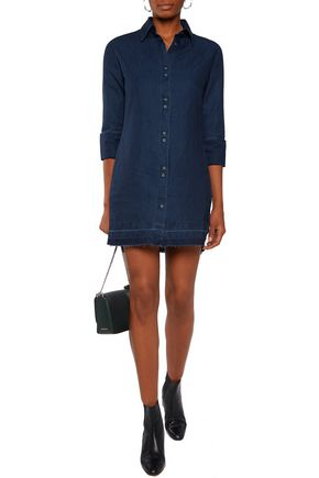 J BRAND Denim shirtdress