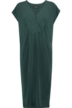 BY MALENE BIRGER Harluna silk-trimmed crepe dress