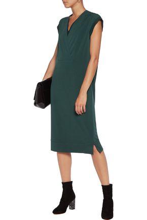 BY MALENE BIRGER Harluna silk-trimmed crepe dress