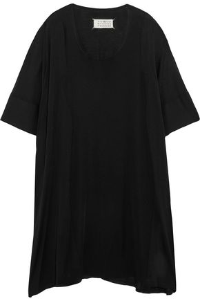 MAISON MARGIELA Oversized open-knit silk dress
