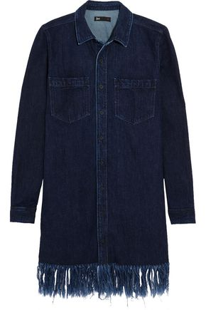 3x1 Fringed denim dress