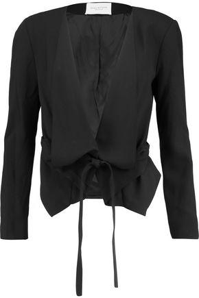 HALSTON HERITAGE Crepe jacket