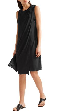 BY MALENE BIRGER Junni draped stretch-crepe dress