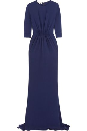 STELLA McCARTNEY Gathered stretch-cady gown