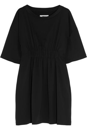 MM6 by MAISON MARGIELA Gathered crepe mini dress