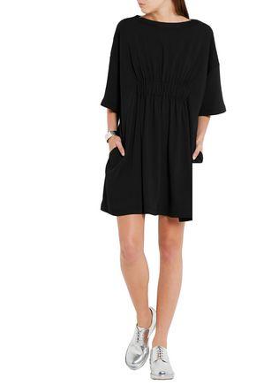 MM6 MAISON MARGIELA Gathered crepe mini dress