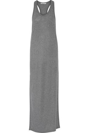 T by ALEXANDER WANG Stretch-jersey maxi dress