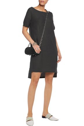 T by ALEXANDER WANG Stretch-jersey slub dress