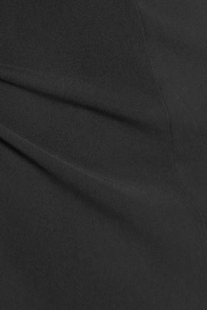 T by ALEXANDER WANG Gathered stretch-jersey mini dress