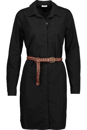 SPLENDID Belted cotton-poplin shirt dress
