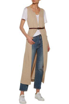 SPLENDID Belted stretch-knit vest