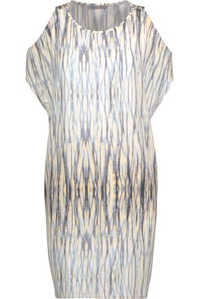 TART Caia cold-shoulder printed stretch-modal jersey dress